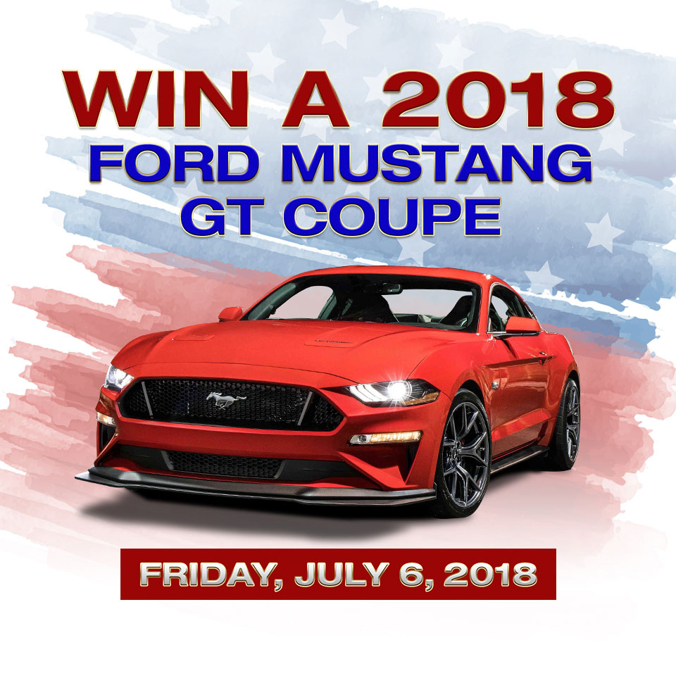 Win A Ford Mustang Convertible!