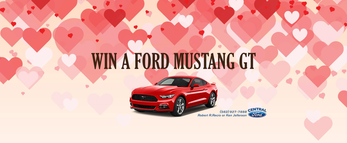 Ford Mustang GT Giveaway