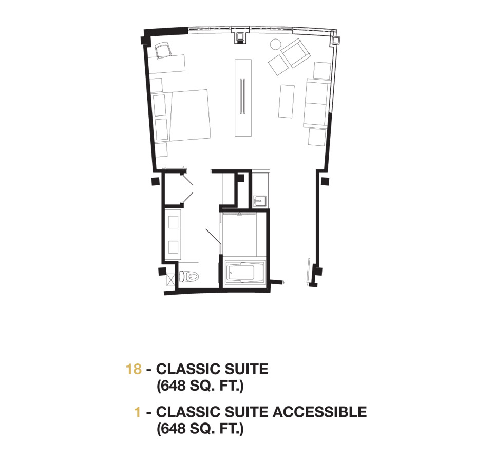 Classic Suite floor plan