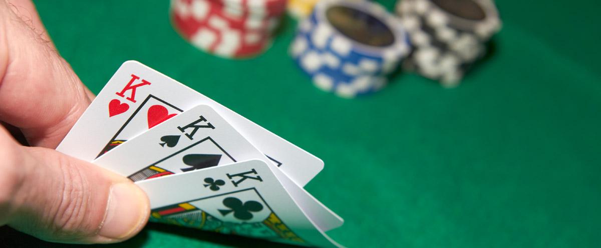 3 card poker hands
